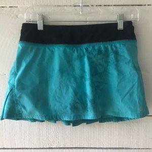 "Lululemon 13"" pleated running skirt"